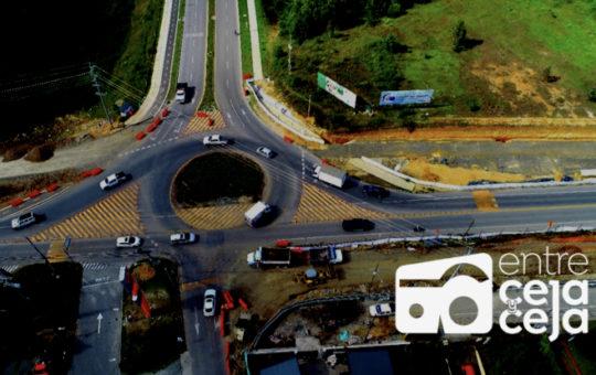 ¡Ojo! Por 12 horas se tendrán cambios en la vía Rionegro – Llanogrande.