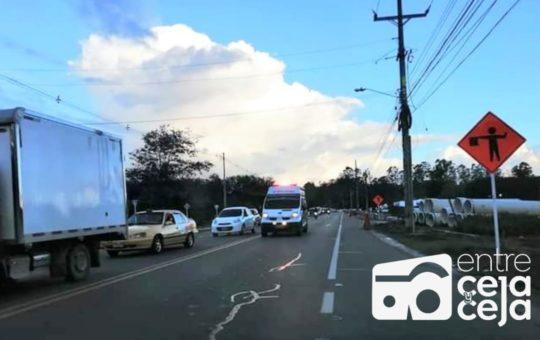 Atención: Vía Llanogrande – Rionegro estará cerrada desde las 7:00 p.m.