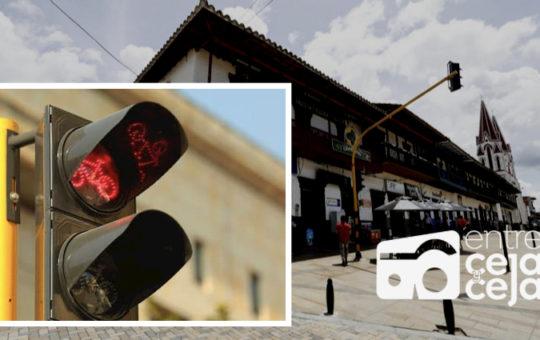 La Ceja: Comenzaron a funcionar los puntos semafóricos