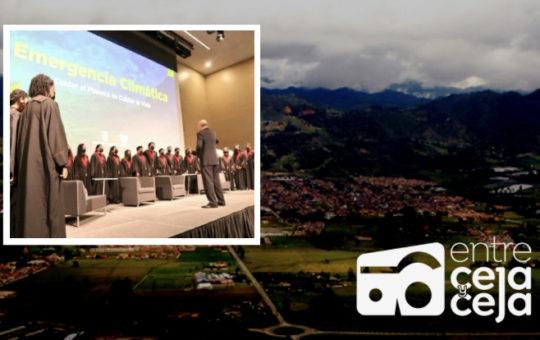 Alcaldes de Antioquia firmaron una ruta de trabajo para luchar contra la emergencia climática.