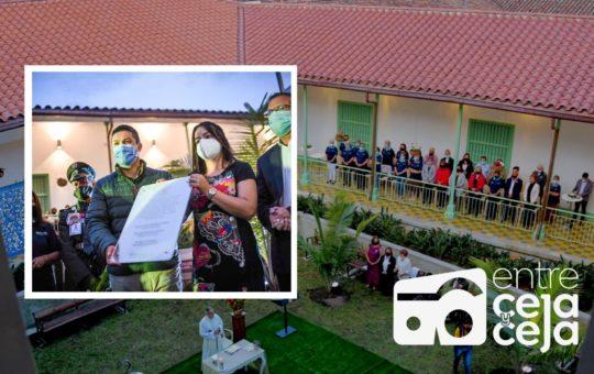 Rionegro: dieron apertura a «La Casa Dorada» para adultos mayores.