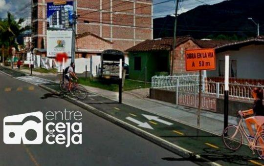 La Ceja: construirán más de 500 metros nuevos de ciclorruta entre Payuco y la Cruz-