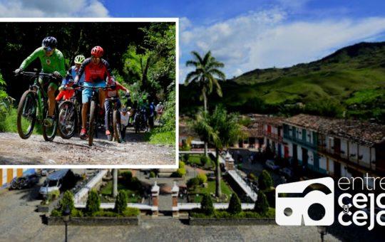 Este fin de semana 500 ciclistas harán ruta de 100 kilómetros en el Oriente, con el programa Antioquia es Mágica
