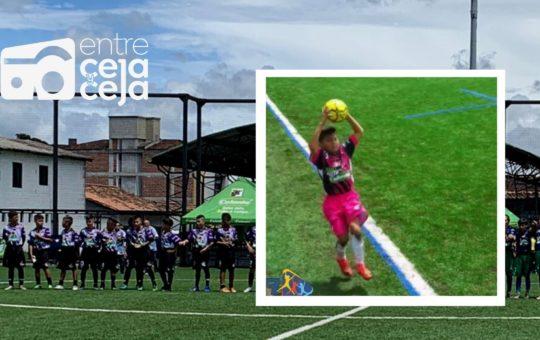 La Ceja debutó con victoria en el Baby Fútbol Zonal Oriente, venció 3-1 a Marinilla.