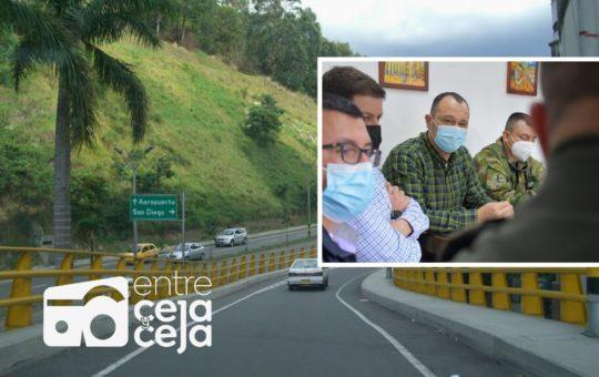Vía Las Palmas hacia el Oriente estará bajo la lupa de las autoridades. Se mejorará la vigilancia.