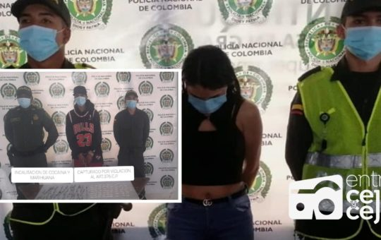 ¡Duro con la delincuencia! 19 capturas ha hecho la Policía de Rionegro en la última semana.