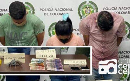 El Retiro: tres extranjeros fueron capturados, tras robar en una residencia.
