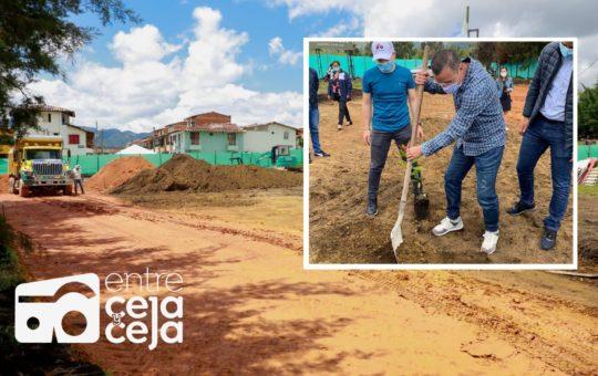 La Ceja: arrancó construcción del CDI de Montesol.