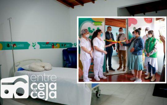 Inauguran remodelación de Sala de Partos en La Ceja.