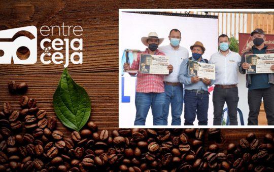 Ya hay ganadores del concurso Calidad de Café origen El Retiro 2021