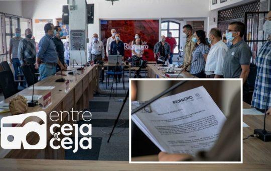Concejo de Rionegro clausuró sesiones extraordinarias.