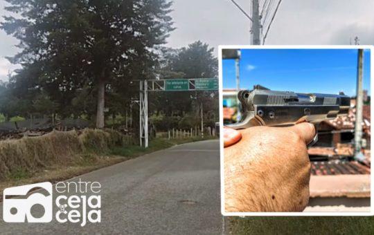 Asesinan joven de 19 años en la vía La Ceja – El Retiro