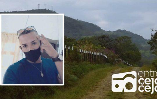Joven de Rionegro fue asesinado en vereda de Guarne ¿quién era la víctima?