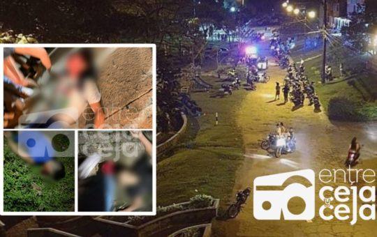 En pleno parque público mataron a 4 jóvenes en San Rafael.