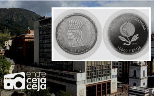 Ya está circulando la moneda de $10.000 pesos en Colombia.
