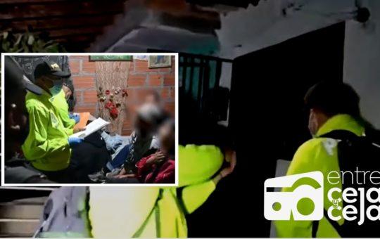 Operativo en El Santuario dejó 16 personas capturadas.