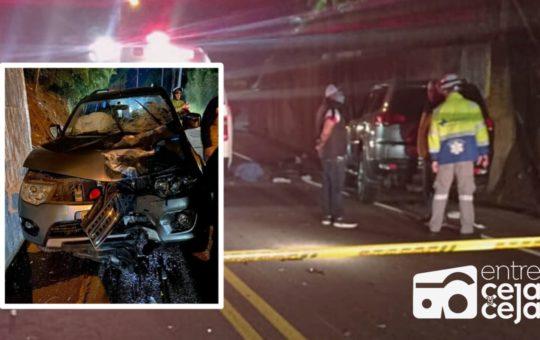 Cejeño falleció en grave accidente de tránsito; una imprudencia ocasionó el choque.