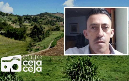 Un hombre que era buscando en Marinilla fue asesinado en una vereda de El Carmen.