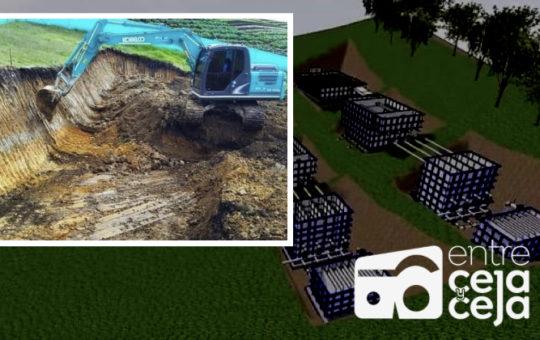 La Ceja: comenzó construcción de planta de tratamiento de agua en El Tambo.