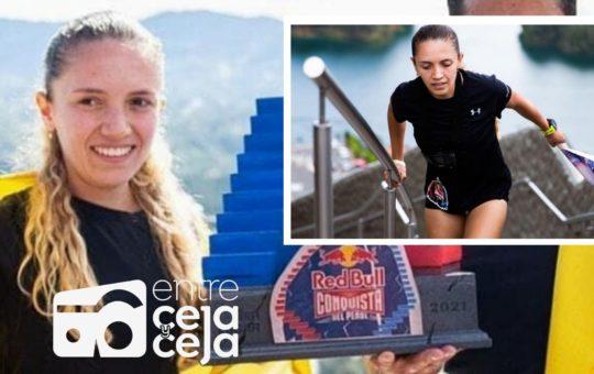 Una guarneña fue la ganadora de la competencia Red Bull Conquista El Peñol.