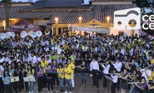 Regresa el tradicional encuentro de bandas de El Peñol que reunirá 700 músicos antioqueños.