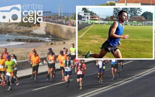 El atleta de La Ceja, David Gómez, ya está listo para correr la Maratón de Lisboa – Portugal