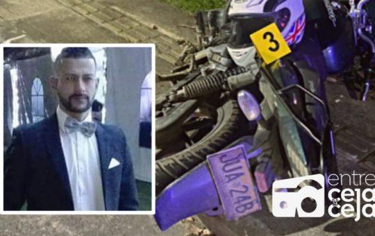 Identifican a motociclista que falleció en Marinilla
