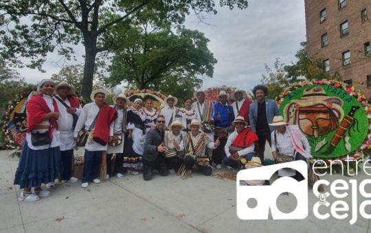 El Desfile de Silleteros llenó de colores y alegría las calles de Queens, en Nueva York