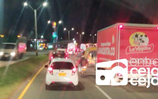 Atención: suspenden operación del Túnel de Oriente por accidente de Tránsito